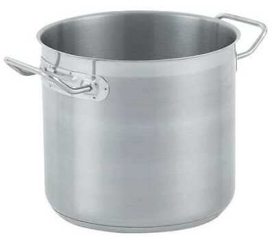 VOLLRATH 3506 Stainless Steel Stock Pot,27 Qt.