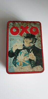 OXO  John Bull  BEEFING UP BRITAIN SINCE 1910/ 48 BEEFY CUBES TIN