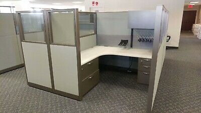 Used Office Cubicles, Steelcase Answer 6x6 Cubicles