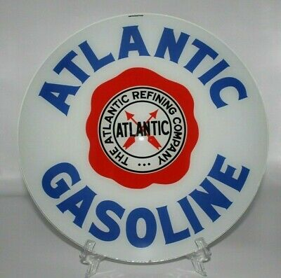 """READY FOR YOUR PUMP! SHIPS FULLY ASSEMBLED ATLANTIC 13.5/"""" Gas Pump Globe"""