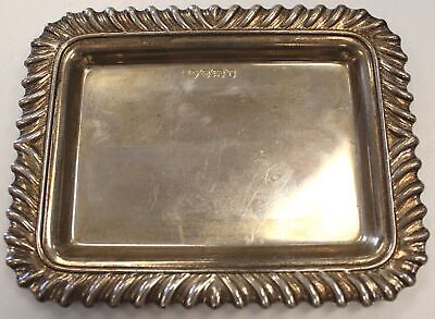R.CARR 925 Sterling Silver Coin Tray Dated 1993 50g - C81