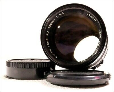 【MINT】 Canon New FD 135mm F2.8 MF Telephoto NFD Lens From Japan 1160