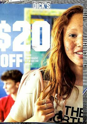 DICK'S SPORTING GOODS $20 Off 100 or more Coupon - Expires 8/11/19 - FAST SEND