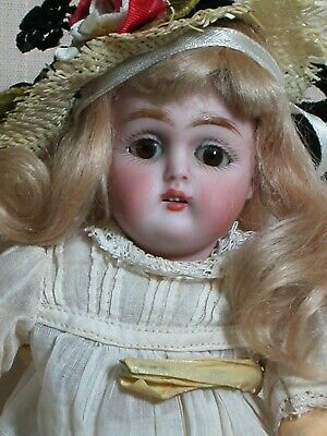 """Antique rare Tiny Kestner Doll Mold #155 Jointed Composition Body Orig Outfit 7"""""""
