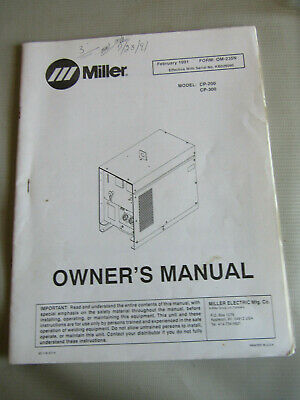 117-022 CENTURY//SNAP-ON MIG WELDER PARTS /& OWNERS MANUAL YA219