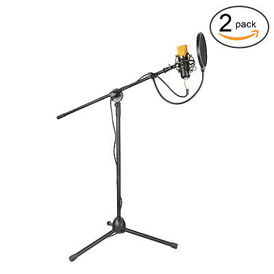 Condenser Microphone and Accessory Kit for Studio Broadcasting Recording kit *2