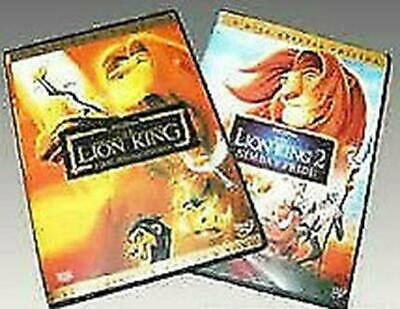 Disney's Lion King 1,& 2  (DVD )Brand New Sealed!
