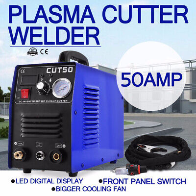 CUT50 110V/220V 50A Plasma Cutter Plasma Cutting Machine + PT31 Cutting Torch