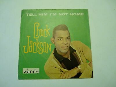 Chuck Jackson Tell Him I'm Not Home/Lonely Am I 45 Picture Sleeve Only Wand