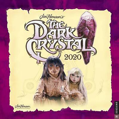 Jim Henson's The Dark Crystal Movie 12 Month 2020 Photo Wall Calendar NEW SEALED