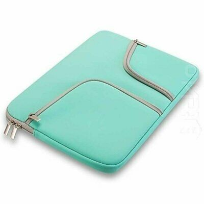 "13"" Laptop Sleeve Pouch Shockproof Protective Zipper Case with Pocketsw"