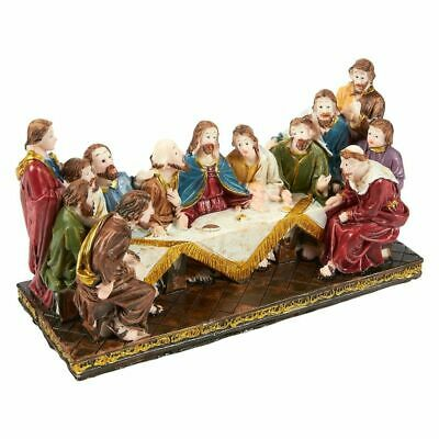 Religious Statues The Last Supper Hand-Painted Figurine Christian Decoration