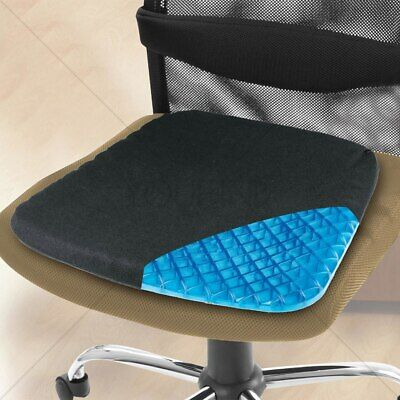 Gel Cooling Cushion CHAIR HONEYCOMB SITTER SEAT EGG COMFORTABLE WASHABLE COVER