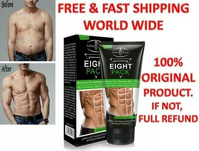 Men Eight pack Muscle Stronger Cream Anti Cellulite Gel For Abdominals