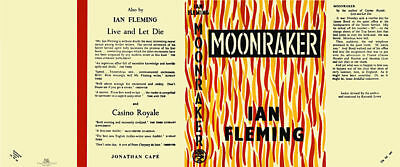Fleming-Facsimile Dust Jacket for 1st UK edition of MOONRAKER