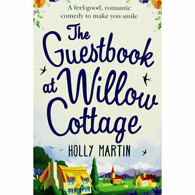 The Guestbook at Willow Cottage by Holly Martin (Paperback), Fiction Books, New