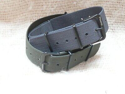Genuine Phoenix Straps UK made NATO straps  Grey,Olive  with PVD fittings