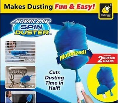 H Electric duster cleaning electric rotating brush wall window dust portable mop
