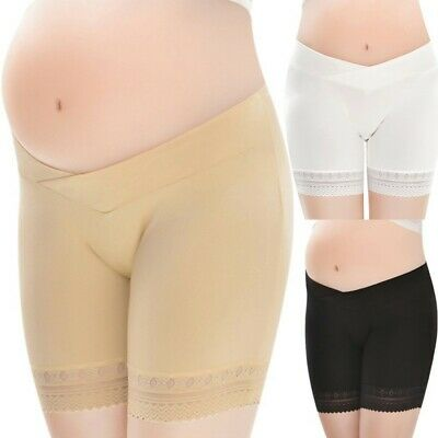 Women Soft Maternity Lace Knickers Underwear Support Belly Briefs Underpants UK