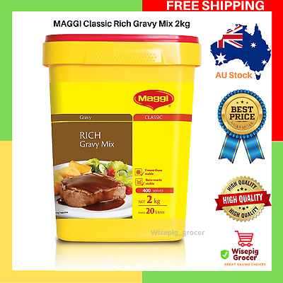 MAGGI Classic Rich Gravy Mix 2kg Full Flavour Long Expiry Sealed | Free Shipping