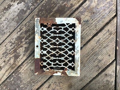 Antique Cast Iron FURANCE GRATE Steampunk Basement
