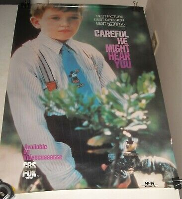 Rolled Careful He Might Hear You  Video Advertising Poster Wendy Hughes