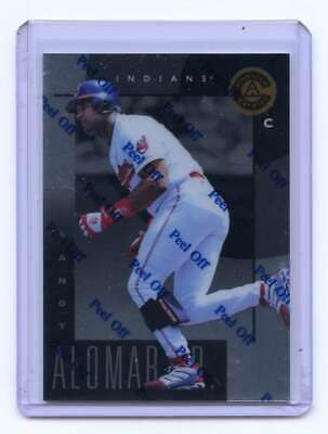 1998 Pinnacle Certified Bankruptcy Test Issue #62 Sandy Alomar Jr. Indians
