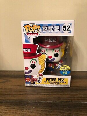 SDCC 2019 FUNKO POP! Ad Icons: Peter PEZ #52 Toy Tokyo **IN HAND!!**