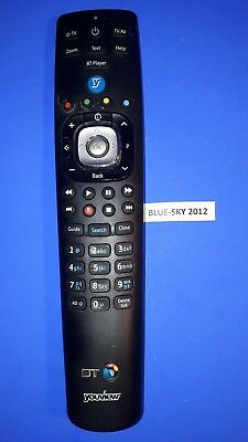 Genuine BT YOUVIEW RC3124703/02B Remote BT HUMAX DTR-4000 DTR-T2100 DTR-2110 110