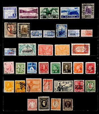 Worldwide: Classic Era Stamp Collection With Better
