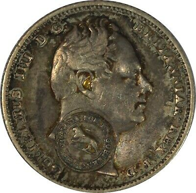 1849-57 Costa Rica 2 Reales Counterstamped on Shilling Ch AU - Beautifully Toned
