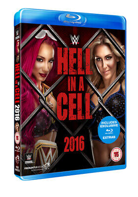 WWE: Hell in a Cell 2016 Blu-Ray (2017) Roman Reigns cert 15 Fast and FREE P & P