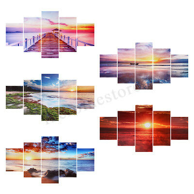 Sunrise Modern Large Canvas Home Wall Decor Art Painting Picture Print UnFramed