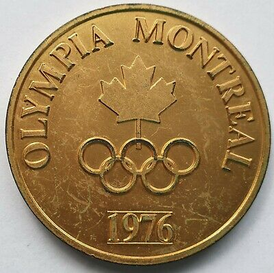 Montreal 1976 Olympics 50mm medals x 2 and Los Angeles 1996 Olympics pin 22mm