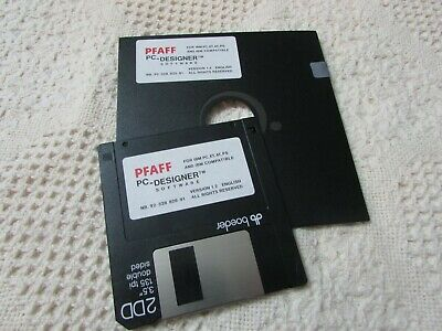 Pfaff 7560 7570 Pc Designer Software Version 2 2 For Mac Complete W 3 5 Floppy 99 99 Picclick