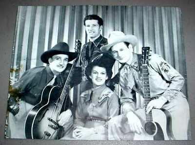 GENE HOOPER & FLORENCE CODY LITHO - Country Singers