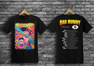 New BAD BUNNY Tour 2019 with dates Men/'s T-Shirt