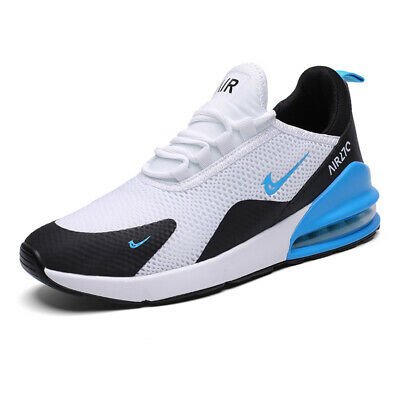 Men's Sneakers 270 Flyknit Outdoor Athletic Running Air Cushion summe Shoes blue