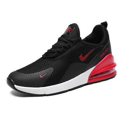 Men's Sneakers 270 Flyknit Outdoor Athletic Running Air Cushion Shoes black