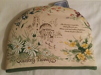 Country Flowers Tea Cosy. The Living Kitchen Quality Giftware from Grandoption