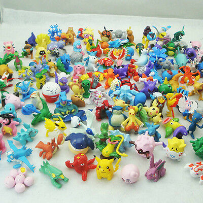 New fCute Pokemon go Mini Random Wholesale Lots Pearl Figures or Kids Toys Gifts