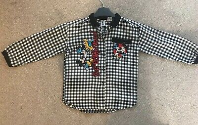 Vintage/ Rare Mickey And Minnie Shirt By J G hook. Highly Collectible. Size 7/8