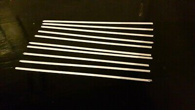 silver solder Johnson Matthey Silverflo 55 flux-coated 10 rods x 250mm 1.5mm