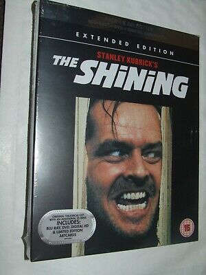 THE SHINING  Jack Nicholson   BLU RAY NEW & SEALED Premium Collection