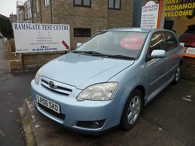 Toyota Corolla 1.6 vvti 5 dr hatch t 3 px welcome