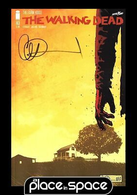 The Walking Dead #193 - First Printing Signed By Charlie Adlard W/Coa (Wk29)