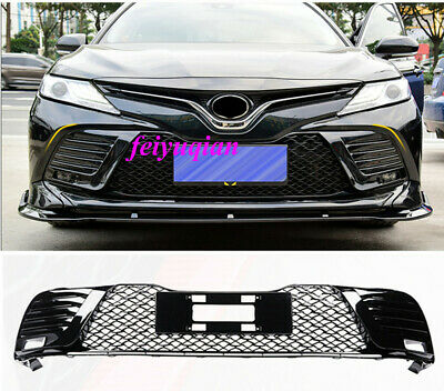 Front Grille Grill Grid Bumper Honeycomb For Toyota Camry 2018 2019 Accessories