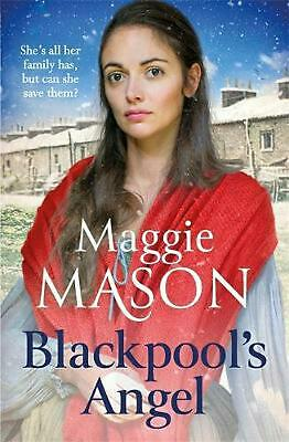 Blackpool's Angel by Maggie Mason Hardcover Book Free Shipping!
