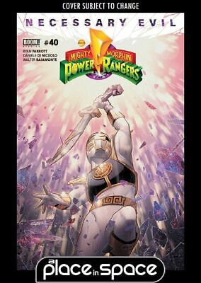Mighty Morphin Power Rangers (Boom! Studios) #40A (Wk26)