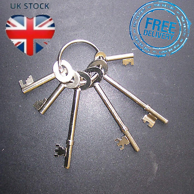 MASTER KEY SET Fire Brigade All 6 Keys For Doors Entrances Barriers Padlocks
